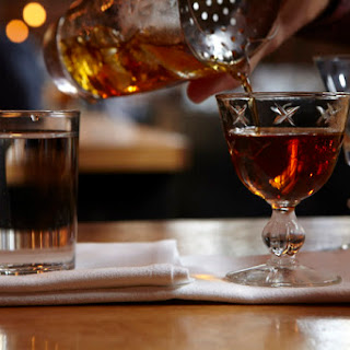 Cardamom Blush Cocktail.