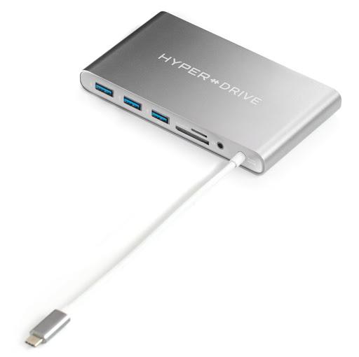 Bộ chia/ Hub USB-C Ultimate Hyper Drive GN30B-GR-1