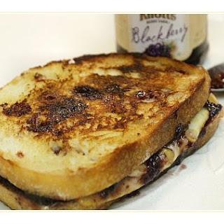 Blackberry Grilled Cheese Sandwich.