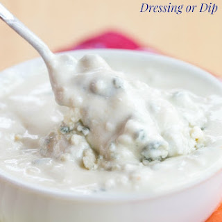 Greek Yogurt Blue Cheese Dip or Dressing