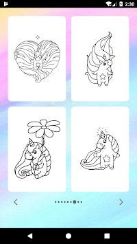 Unicorn Coloring Book APK screenshot thumbnail 12