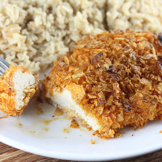 Kettle Chip Crusted Chicken Recipe