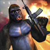 Angry Apes Attack Survival War