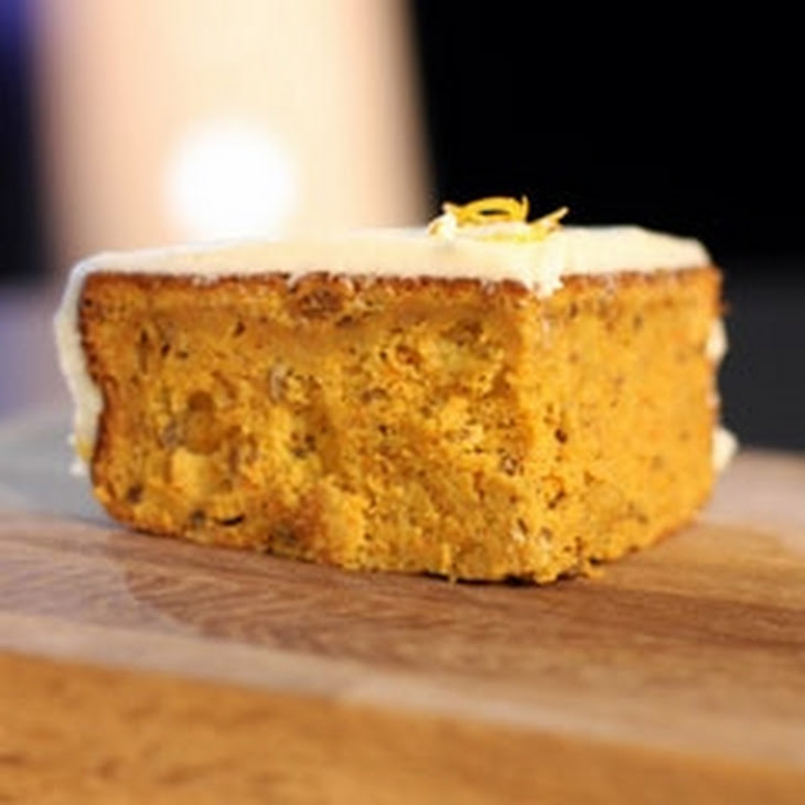 Super Moist Carrot Cake with Cream Cheese Frosting Recipe