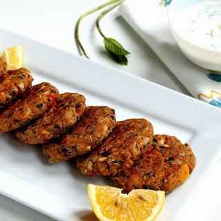 Lobia Kebabs Recipe (Black Eyed Bean Patties)