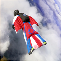 Base Jump Wing fly icon