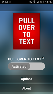 PULL OVER TO TEXT ™- screenshot thumbnail
