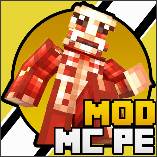 Mod MCPE Titan Attack Pack