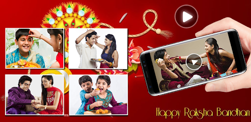 Rakhi Video Maker - Slideshow Maker with Music game (apk) free download for Android/PC/Windows screenshot