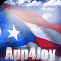 3D Puerto Rico Flag Live Wallpaper icon