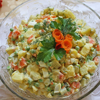 The Beloved Potato Salad from My Russian Jewish Childhood.