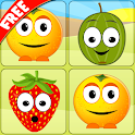 Mem Fruits - pair match icon