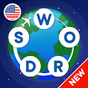 Words from word: Crosswords. Find words. Puzzle icon