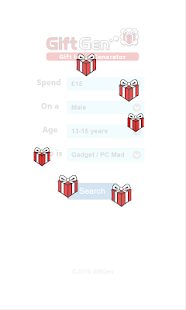 GiftGen - Gift Ideas Generator- screenshot thumbnail
