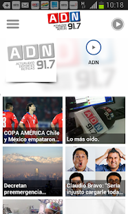 ADN Radio Screenshot