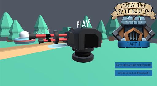 Miniature Defenders  captures d'écran 1