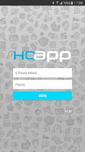 HQapp - náhled