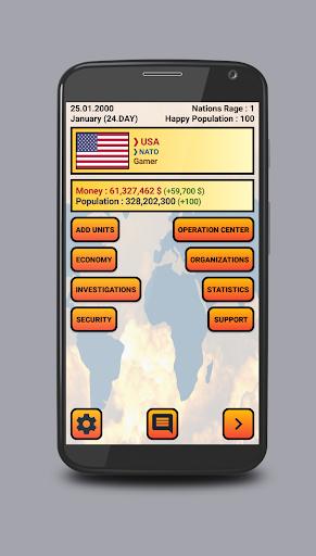 Global War Simulation WW2 Strategy War Game 1.0 screenshots 2