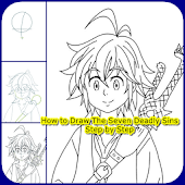 Drawing Guide for Seven Deadly Sins Characters