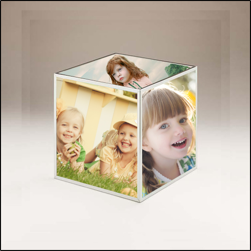 3D Family Photo Cube LWP