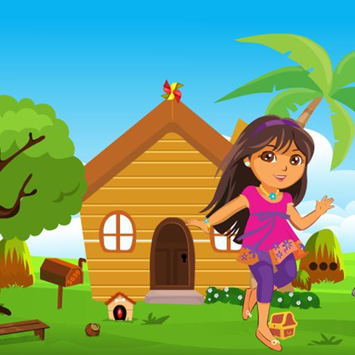 Happy Girl Rescue Kavi Game-367
