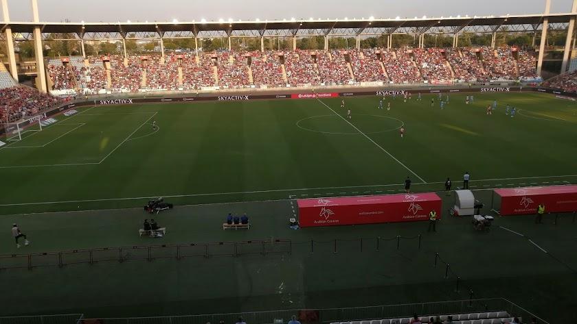 El Estadio de los Juegos regsitrará una gran entrada ante el Cádiz el próximo domingo.