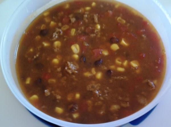 Fiesta Taco Soup Recipe