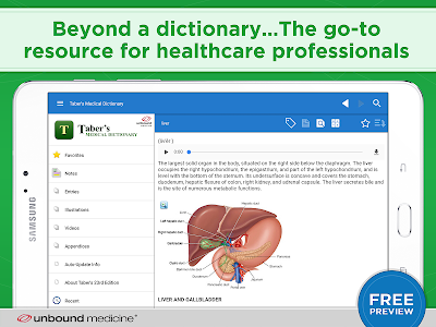 Taber's Medical Dictionary    2 7 52 APK for Android