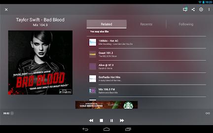 TuneIn Radio - Radio & Music Screenshot 8