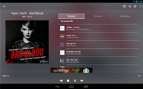 TuneIn Radio - Radio & Music Screenshot 8