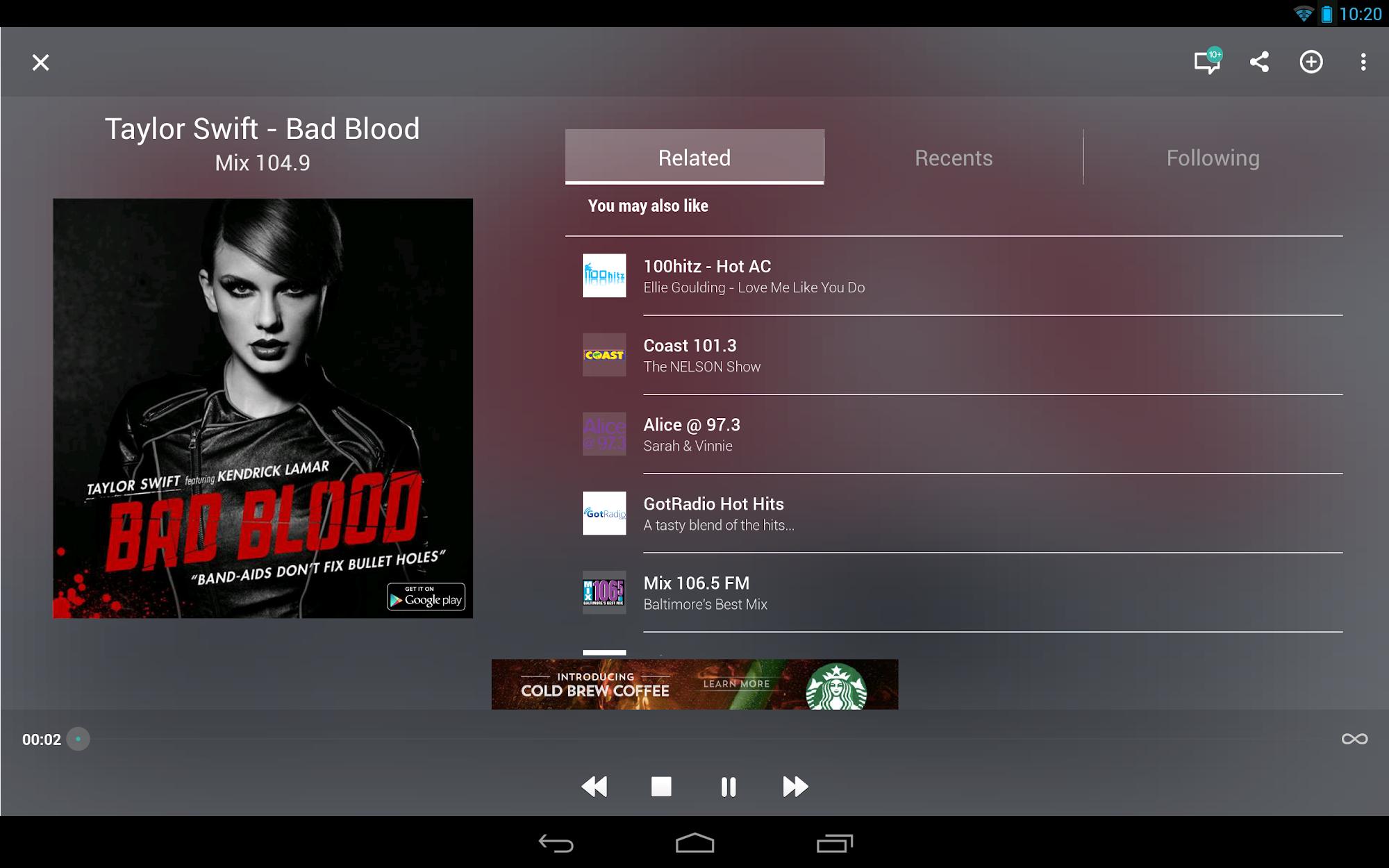 TuneIn Radio - Radio & Music screenshot #8