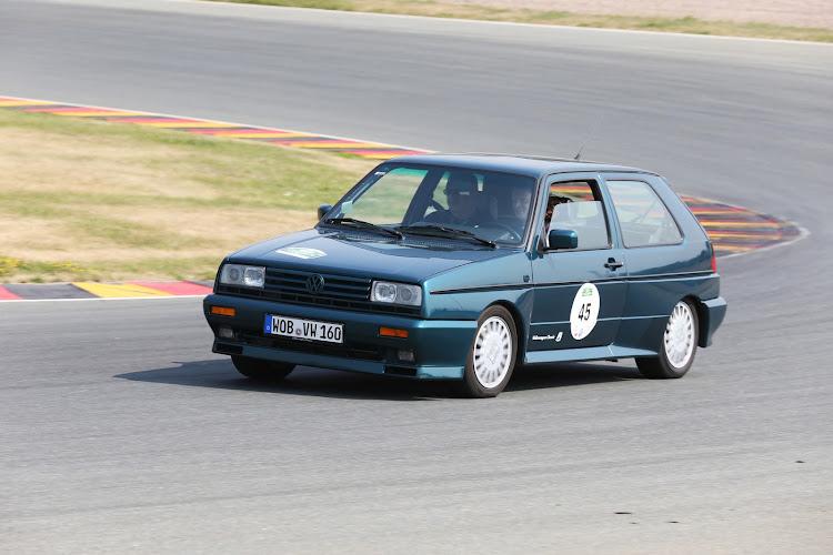 The Rallye wore chunky wheel arches and rectangular headlights.