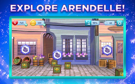 Disney Frozen Adventures: Customize the Kingdom apkmr screenshots 3