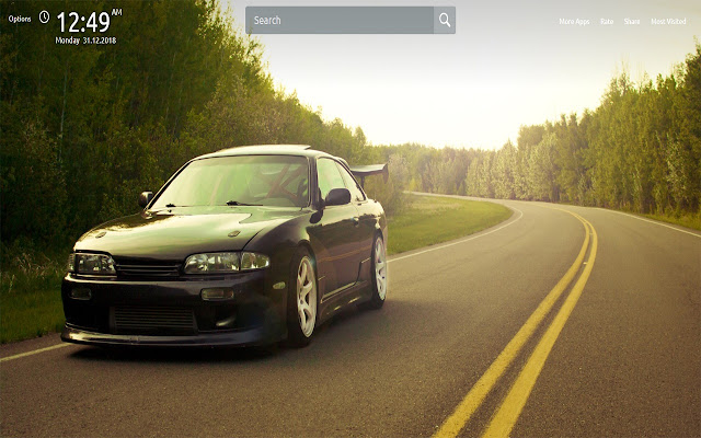 Nissan Wallpapers Theme New Tab
