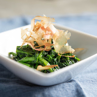 Ohitashi (Japanese Blanched Greens with Savory Broth) Recipe
