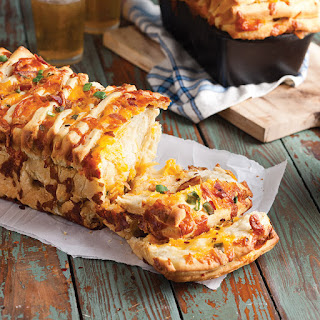 Bacon-Cheddar Pull-Apart Bread Recipe