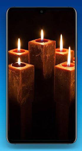Candles Wallpaper 4K ss3