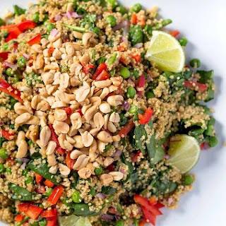 Warm Thai Peanut-Quinoa Salad