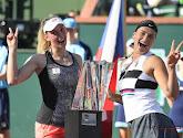 Mertens en Sabalenka winnen dubbeltoernooi op Indian Wells
