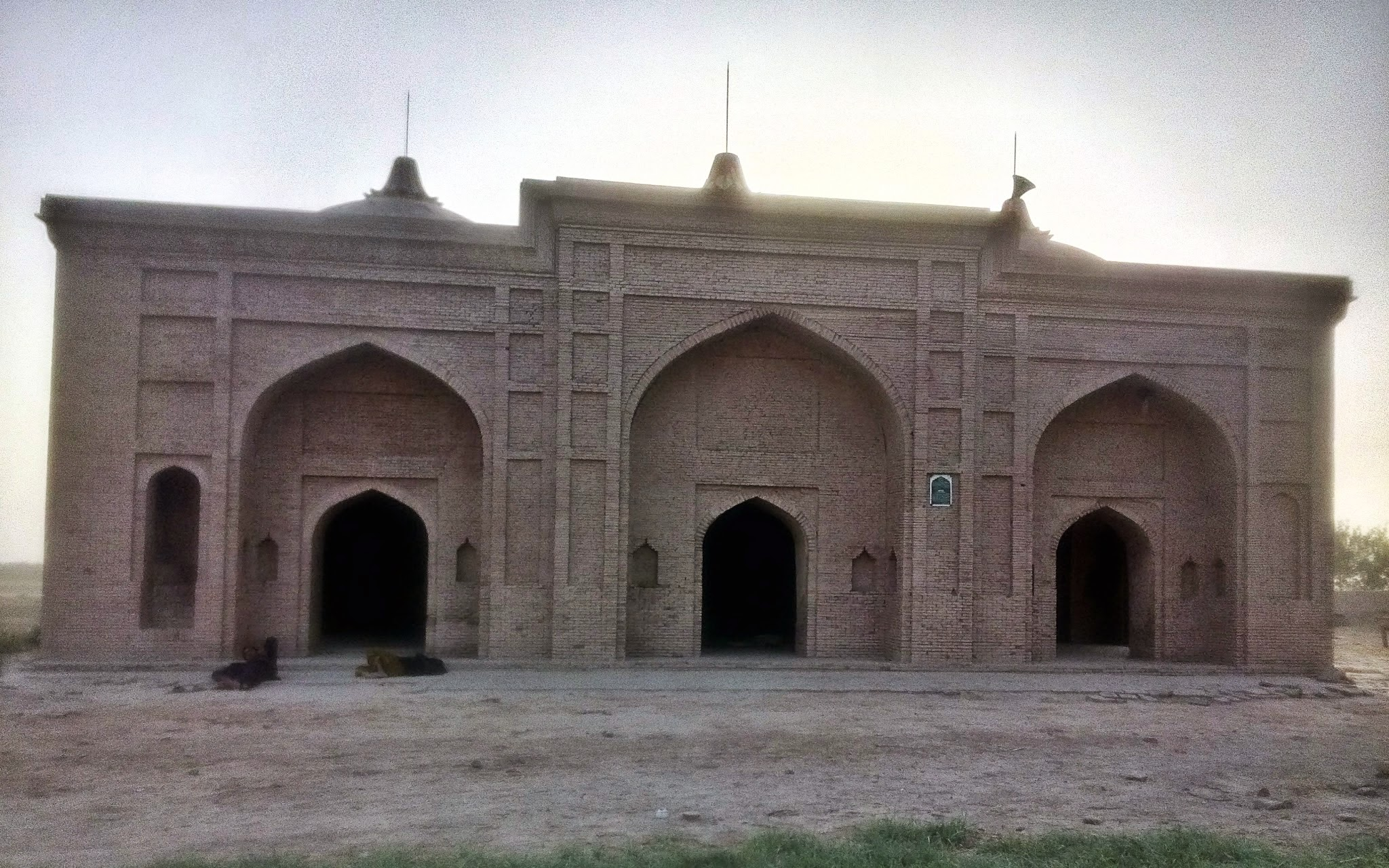 Mosque - Front