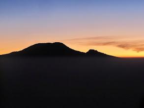 Photo: Mount Kilimanjaro from near summit Mount Meru