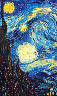 wallpaper starry night apps on google play