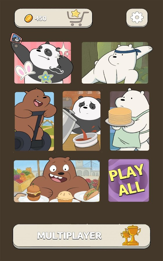 Free Fur All – We Bare Bears- screenshot