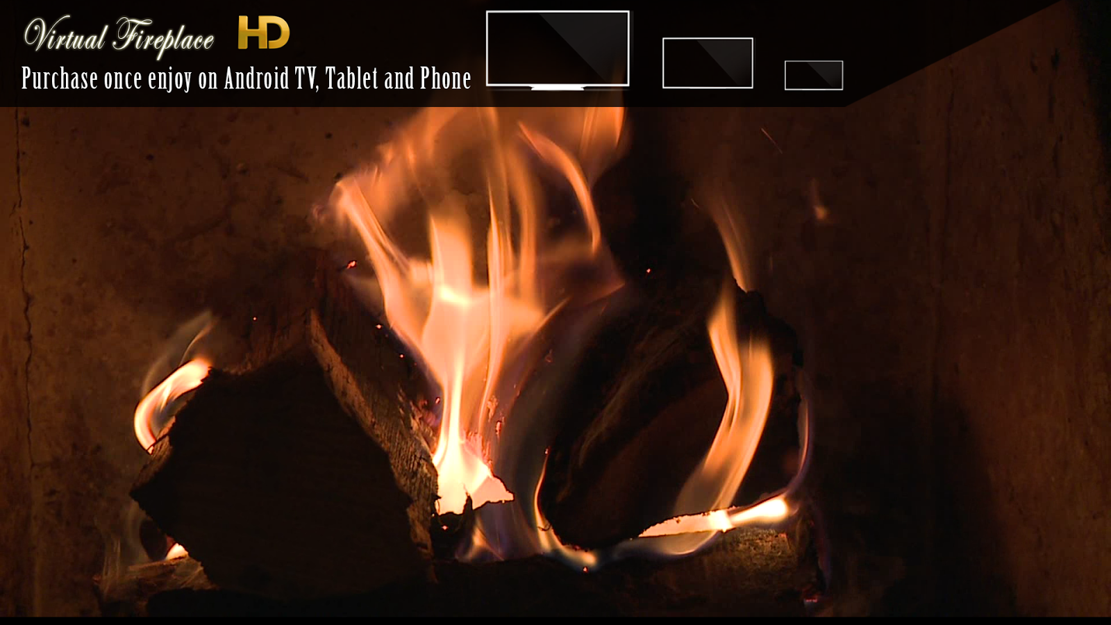 virtual fireplace android apps on google play