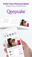 screenshot of Qeepsake: Family Album, Baby Book, Memory Journal