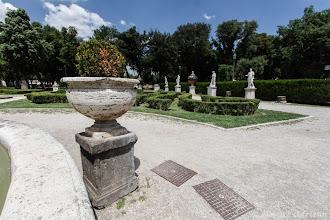 Photo: Villa Borghese belső kert 2