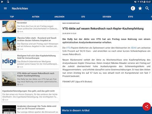 Börse & Aktien - finanzen.net  screenshots 12