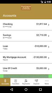 Huntington Fed. Savings Bank screenshot 2