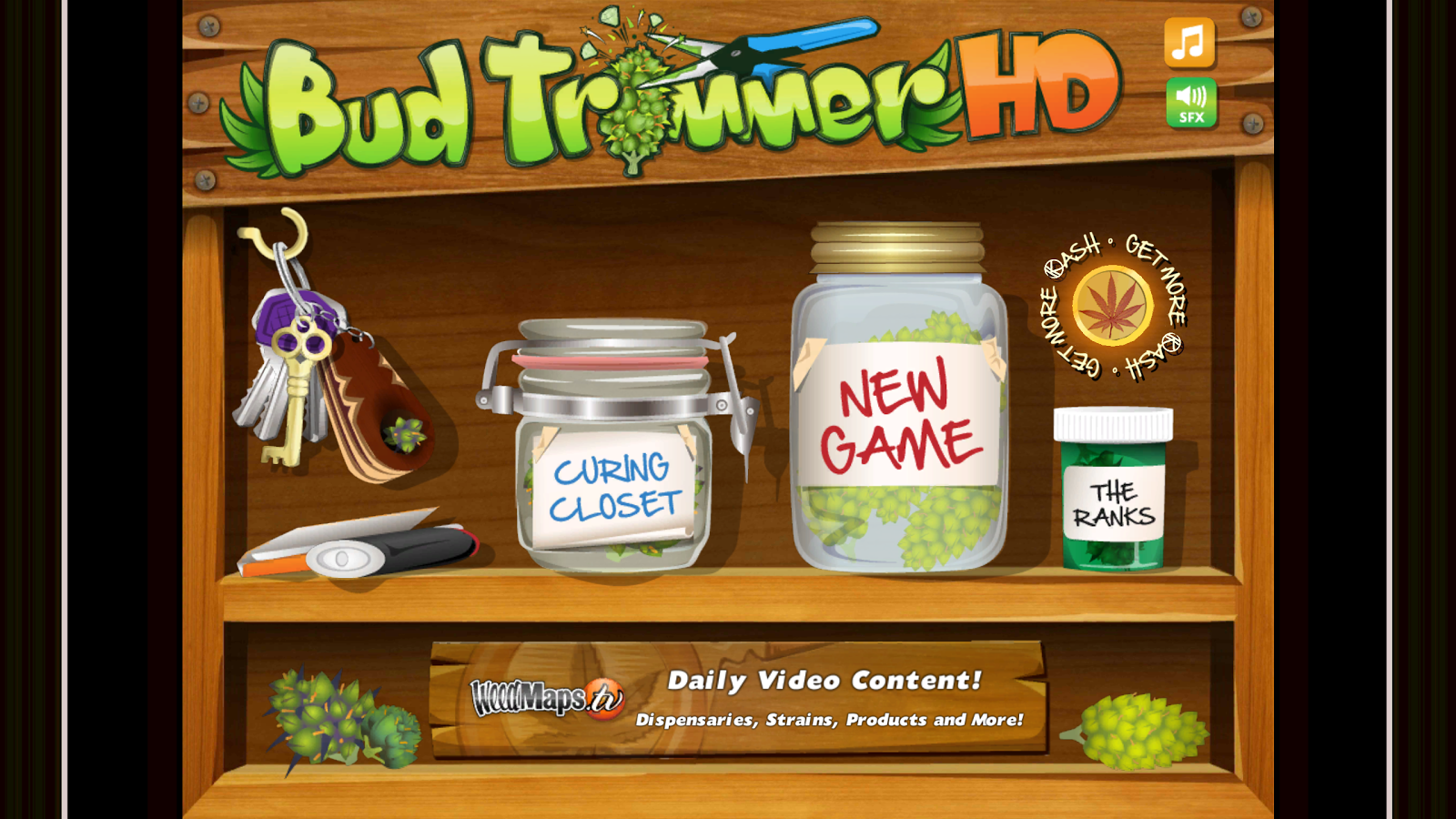 BudTrimmer -The New Weed Game- screenshot