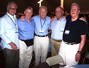 Photo: Dave Weinstein, Jud Calkins, Jerry Kenney, Chuck Hellman, Vic Sheronas